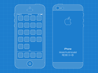 iPhone 5 Blueprint