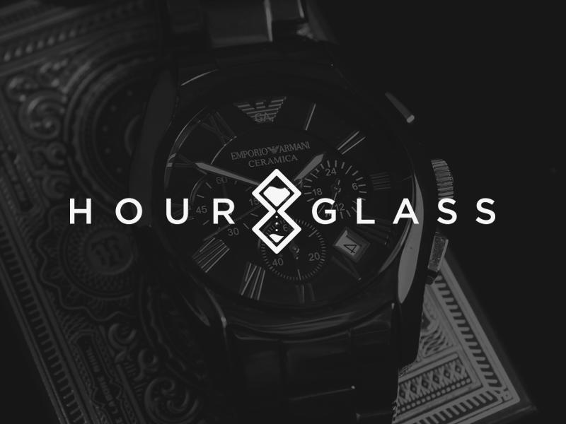 Hourglass Logo hour glass logo