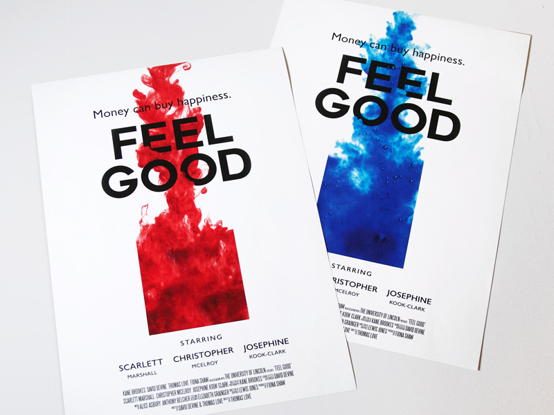 Feel Good Short Film Poster photography typography mockup poster film short good feel
