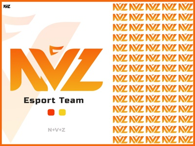 NVZ ||  Esport team logo game logo esports logo logo