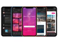 Travel Agency UI kit - Iphone Mockup