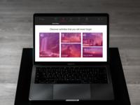 Travel Agency UI kit - macbook mock-up