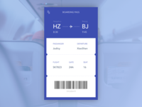 Day 018 - Boarding pass