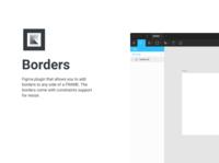Borders Figma plugin design css borders plugins figma