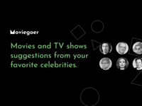 Moviegoer - Movies and TV shows from your favorite celebrities films apple netflix shows tv movies email moviegoer