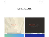 Mariz.io new personal website ui ux code design website design website personal mariz