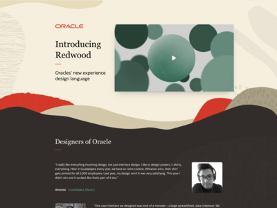 Oracle design team