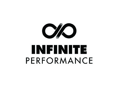 Infinite Performance Logo By Kristina Klaffke Dribbble Dribbble