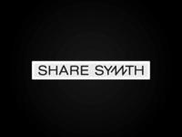 share synth logo