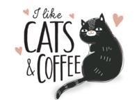 I like cats and Coffee