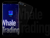 Whale Trading Icon