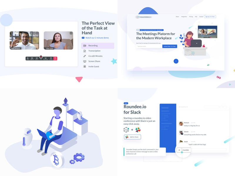 2018 Year in Review last year popular best rewind review 2018 illustration thanks design ui