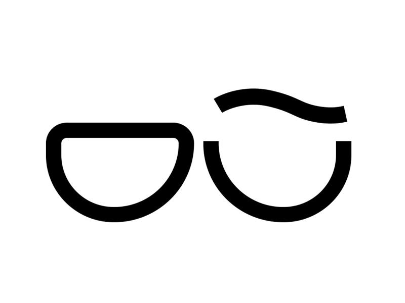 Die Brille - Logo by Mark Strauss - Dribbble