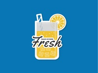 Make eComm Fresh Sticker