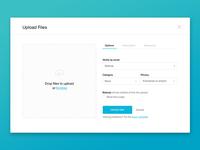UI challenge: Upload Files Popup