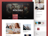 Becka Skola Website