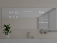 Smart Mirror — UI Weekly Challenges-Season 02 / W [6/10]