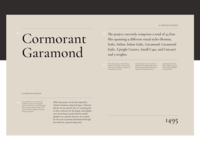 Cormorant Garamond Type Exploration