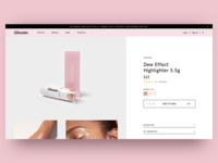 Glossier Single Product Page