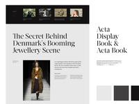 Magazine Art Direction Exploration