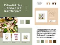 Healthy Food Shop Art Direction