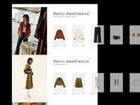 E-commerce Collection Scroll Slider