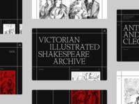 Shakespeare Illustration Art Direction