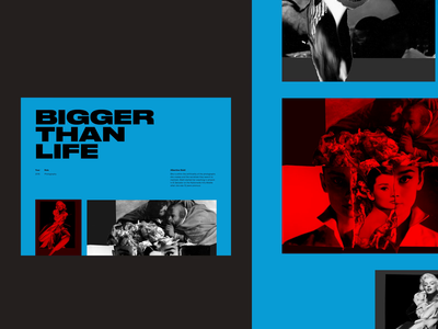 Art Direction layout variations