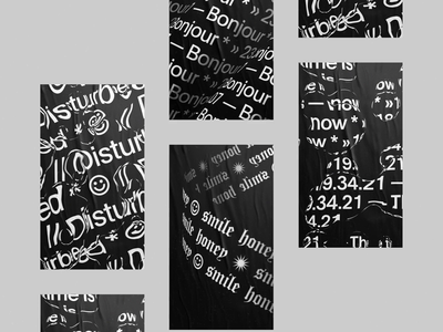 Type in Motion / Still images graphicdesign kinetictype art direction minimal design typography