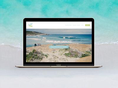 Swell Stays Website web design rental squarespace simple minimalist ui ux website