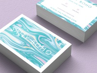 Salty Boho Business Cards