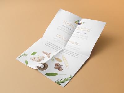 Yummy Greens - Info Flyer