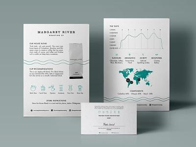 Tasting Notes - Margaret River Roasting Co. minimalism coffee tastingnotes print branding