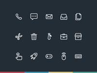 470+ Line Icon Set