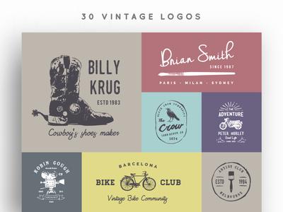 30 Vintage Logos