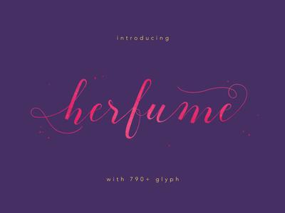 Herfume Font