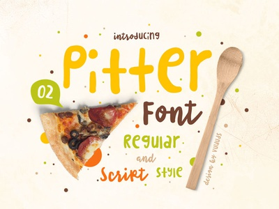 Pitter Font modern display typeface poster font clean simple lettering typography graphic design quote