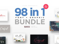 FontGrap (98 Fonts + Graphic)