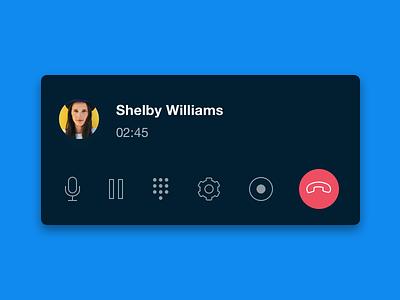 Callbar. product design ux ui dialpad voip pbx callbar call phone