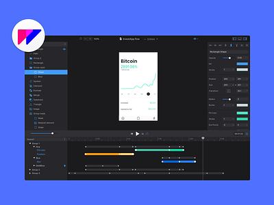 Flow. Coming 2018. export code animation tool design user interface ui flow