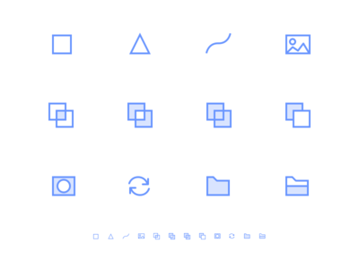 Layer Icons. WIP.