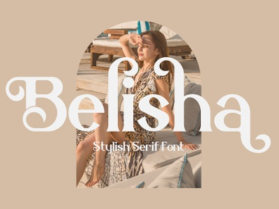 Belisha Typeface illustration logo motion graphics ui icon graphic design design branding app animation 3d