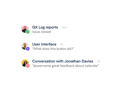 Notifications resolve comment mention action profile picture notification center notification