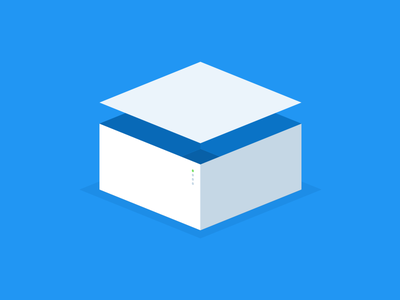 box material illustration box