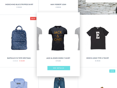 product preview hover preview product