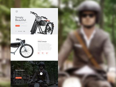 Meijs Motorman Redesign product clean layout website