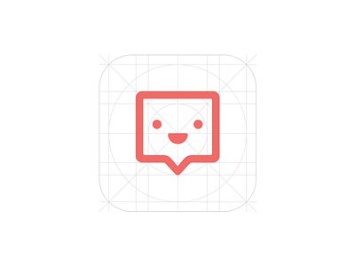 Bubble logo logo test response answer chat bubble