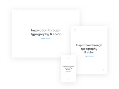 Qoutte color layout clean responsive inspiration quotes