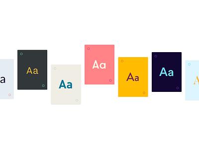 Qoutte colors app color layout clean inspiration quotes