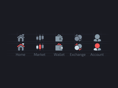 Icons for eWallet